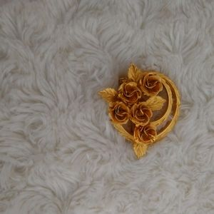 Coro Flower Brooch